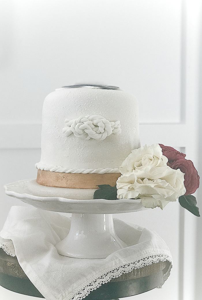 Make Your Own Fondant Wedding Cake Under Fifty Dollars